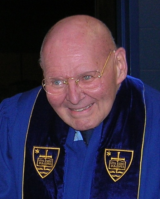 photo of Reginald, an honorary doctor at Notre Dame University, AESTIVA MMXIII