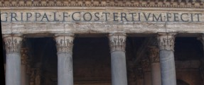 Facade of the Pantheon, Rome