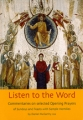 Book cover: listen to the word