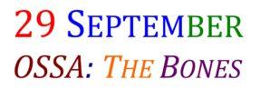 29 September, Ossa published