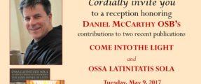 Invitation flyer to the Rome presentation