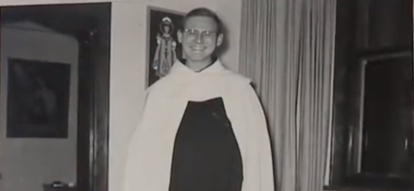 60 years ago Reginald Foster as a young friar